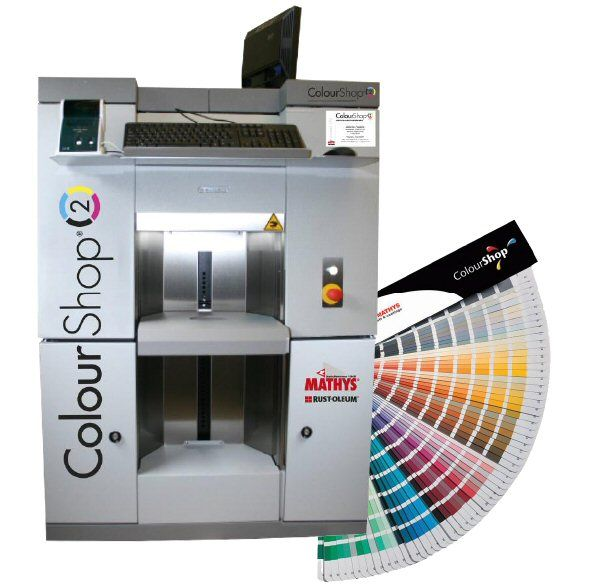 PAINT MIXING MACHINE IMAGE
